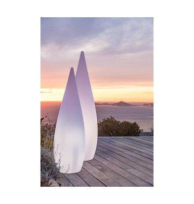 Lumisky Classy 150 White Außenbeleuchter | 460x460x (H) 1500 mm