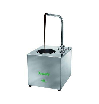 ICB Fuenty Schokoladenausgießer | 5 Kg Behälter | 0,2 kW | 350x460x(h)820mm