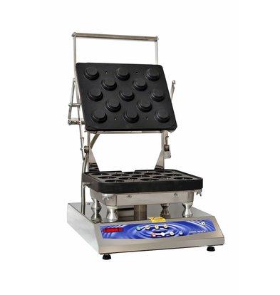 ICB Cook-Matic | Bereitung von Tartelettes | 3,2 kW | 440x570x(h)420mm