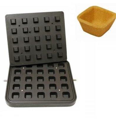 ICB 25x Square Cup | Oben 40x40mm | Unten 28x28mm | 20mm Höhe