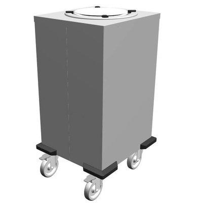 Mobile Containing Fahrbarer Stapler Unbeheizt | Mobile Containing 1 TN-MS 240 | Teller 200-238mm