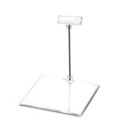 Boska Preiskartenhalter Perspex M | 100x100x100(h)mm | Set 10 Stück