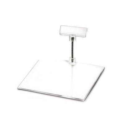 Boska Preiskartenhalter Perspex S | 100x100x50(h)mm | Set 10 Stück
