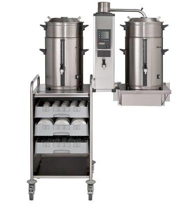 Bravilor Bonamat Rundfiltermaschine B20 HW W | 2x 20 Liter | 3-Teilig