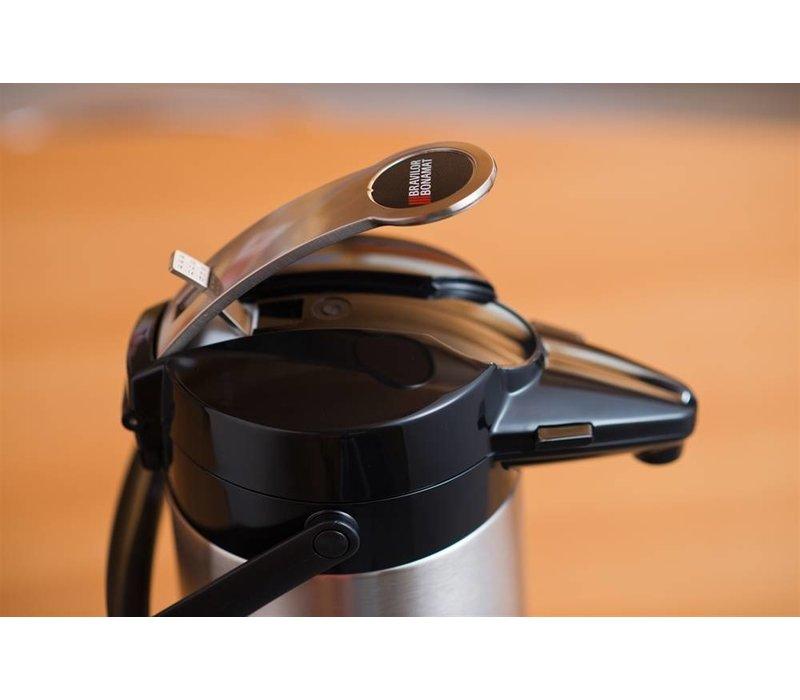 Bravilor Bonamat Airpot Furento | Edelstahl Einsatz und Gehäuse | 2,2 Liter | Ø164x(h)378mm