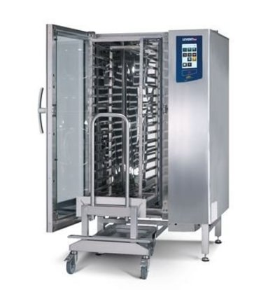 Leventi Bake-off Ofen Leventi YOU 15 Roll-in | 15x EN 40x60 | Gas 18kW | Inkl.  Untergestell und Trolley | 899x831x1855(h)mm