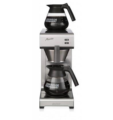 Bravilor Bonamat Kaffeemaschine Mondo 2 | Filterkaffee | 2 Glaskannen | 195x406x(h)446cm