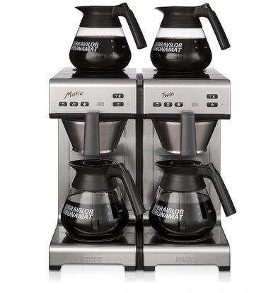 Bravilor Bonamat Kaffeemaschine Matic Twin | Filterkaffee | 2 Brühsysteme | 404x406x446 mm
