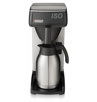 Bravilor Bonamat Kaffeemaschine Iso | Schnellfiltergerät | Isolierkanne | 214x391x(h)465mm