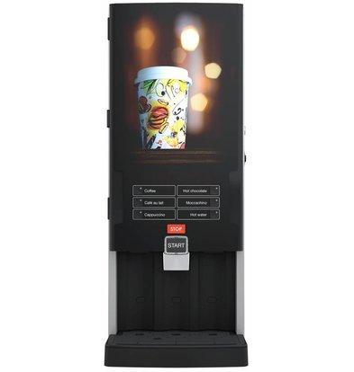 Bravilor Bonamat Kaffeevollautomat Bolero Turbo 331 | 6 Heißgetränke| 339x538x(h)812mm