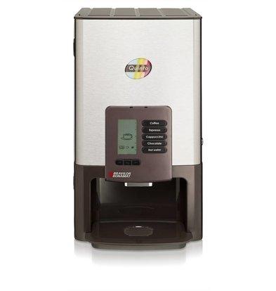 Bravilor Bonamat Kaffeevollautomat Quinto | 4 Heißgetränkeprodukten | 3 Produktbehälter | 310x426x570 mm