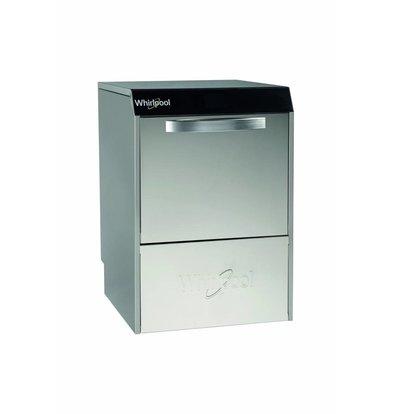 Whirlpool Pro Gläserspülmaschine | High Line HGL 44 SA | 230 Volt |  40x40cm | Klarspüldispenser + Automatischer Abfluß