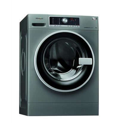 Whirlpool Waschmaschine 8kg | AWG 812 S/PRO | Silver Line | 1200tpm | Arbeitskleidung und Moppprogramm