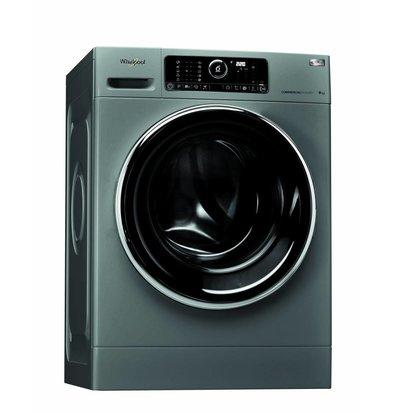 Whirlpool Waschmaschine 9kg | AWG 912 S/PRO | Silver Line | 1200tpm | Arbeitskleidung und Moppprogramm
