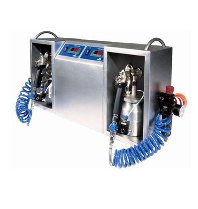 ICB Schokolade-Spritzmaschine | Spraychoc Maxi | 2 Liter | 700x200x400(h)mm