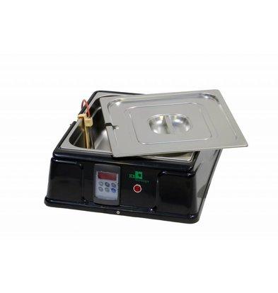 ICB Schokoladenschmelzgerät Digital | 9 Liter | 200W | 380x520x260(h)mm