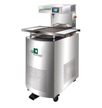 ICB Temperrermaschine | Chocotemper 24kg | 400V | 620x900x1540(h)mm
