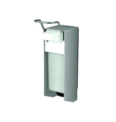 XXLselect Seife- und Desinfektionsmittelspender | Aluminium | 151x80x(h)287mm | 500ml