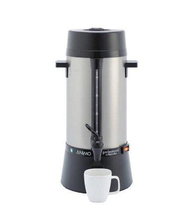 Animo Daalderop Perkolator Animo | Handmäßige Wassereingabe | Edelstahl | Ø212x(h)460mm | 40 Tassen | 5 Liter