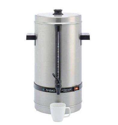 Animo Daalderop Perkolator Animo | Handmäßige Wassereingabe | Ø250x(h)525mm | 80 Tassen | 10 Liter