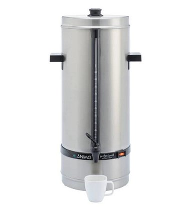 Animo Daalderop Perolator Animo | Wasseranschluss | Edelstahl | Ø250x(h)640mm | 110 Tassen | 15 Liter