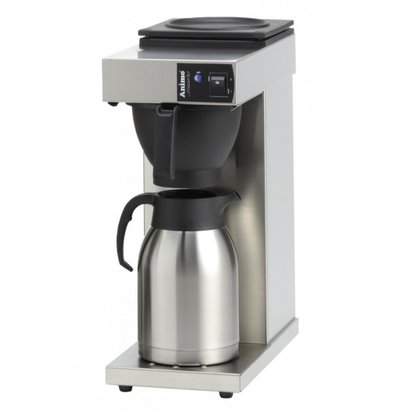Animo Kaffeemaschine Animo 10385 | Excelso T | Inkl. Edelstahlkanne 2 Liter | 2100W | 190x370x(h)480mm