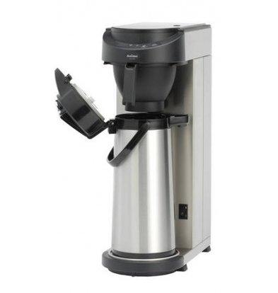 Animo Kaffeemaschine Edelstahl Animo   Festwasseranschluss   10572   MT200  Exkl. Isolierkanne 2,1 Liter   2100W