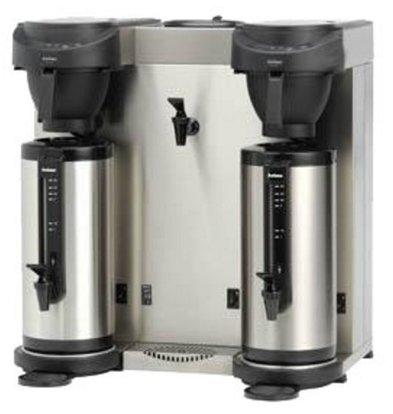 Animo Trio | Doppel Kaffeemaschine + Heißwasserspender Animo | Festwasseranschluss | 10582 | MT202W