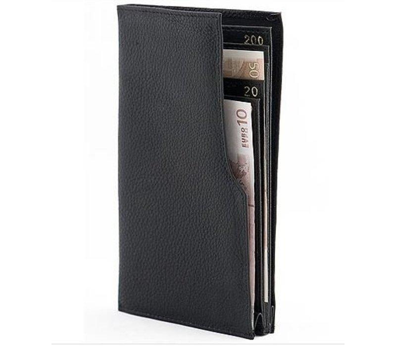 Aartefacto Geldbörse für Papiergeld Kunstleder | 6 Fächer | 105x180x15mm
