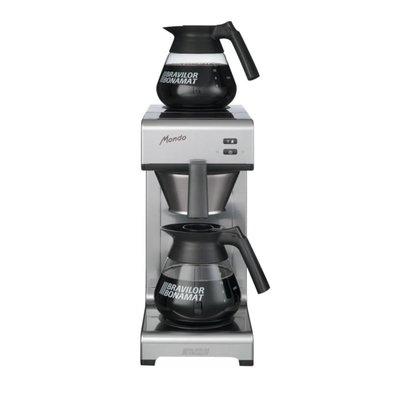 Bravilor Bonamat Kaffeemaschine Mondo | 2 Warmhalteplatten | 2x 1,5 Liter | 620(h)mm