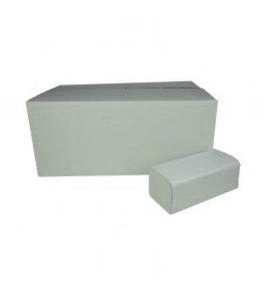 XXLselect Handtücher ZZ gefalten | Recycled | 2-Lagig, 23 x 25cm | 20 x 160 Tücher in Karton | (auch Paletten) Preis je 3200 Tücher