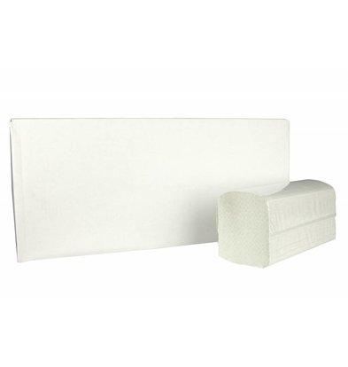 XXLselect Handtücher ZZ gefalten | Recycled | 2-Lagig, 23 x 25cm |15 x 215 Tücher in Karton | (auch Paletten) Preis je 3225 Tücher