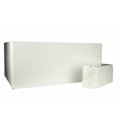 XXLselect Handtücher C-gefalten | Cellulose | 2-Lagig, 31 x 25cm |20 x 152 Tücher in Karton | (auch Paletten) Preis je 3040 Tücher