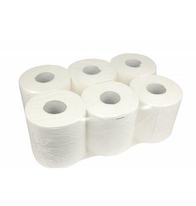 XXLselect Handtuchrolle Midi | Cellulose | 2-Lagig | 20cm x 160 meter pro Rolle | (auch Paletten) Preis je 6 Rollen