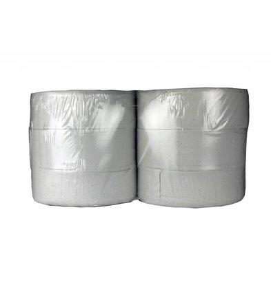 XXLselect Toilettenpapier Maxi Jumbo   Recycled 2-Lagig   (auch Paletten) Preis je 6 x 380 meter
