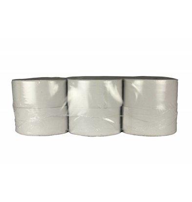XXLselect Toilettenpapier Mini Jumbo   Recycled 2-Lagig   (auch Paletten) Preis je 12 x 180 meter