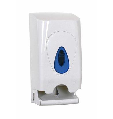 XXLselect Duo Toilettenpapierspender | Kunststoderf Weiß