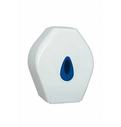 XXLselect Mini Jumbo Papierspender | Kunststoderf Weiß