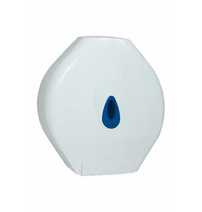 XXLselect Maxi Jumbo Papierspender | Kunststoderf Weiß