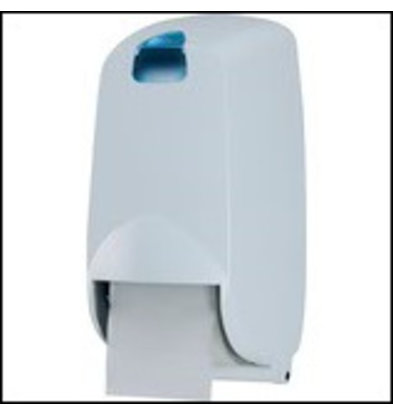 XXLselect Duo Toilettenpapierspender | Kunststoderf Weiß | HP461