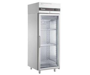 Kühlschrank Xxl Edelstahl : Edelstahl kühlschrank mit glastür liter w h cm