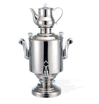 XXLselect BEEM Samovar Trendy Katharina III | Tee- Wasserkocher | Edelstahl | 15 Liter