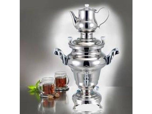 XXLselect BEEM Samovar Trendy Odessa   Tee- Wasserkocher   Edelstahl   3 Liter