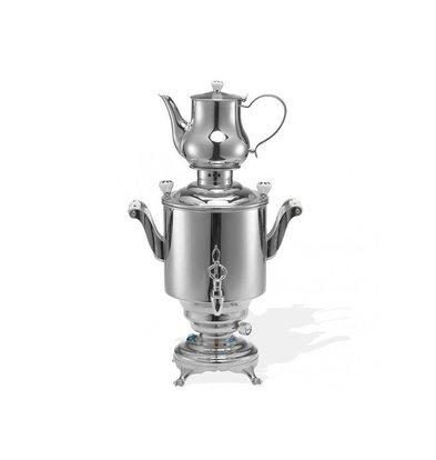 XXLselect BEEM Samovar Trendy Romanov | Tee- Wasserkocher | Edelstahl | 5 Liter