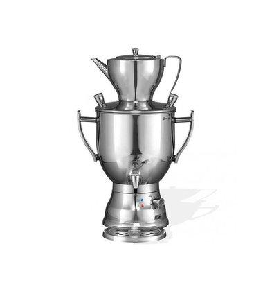 XXLselect BEEM Samovar Trendy 3006C | Tee- Wasserkocher | Edelstahl | 6 Liter