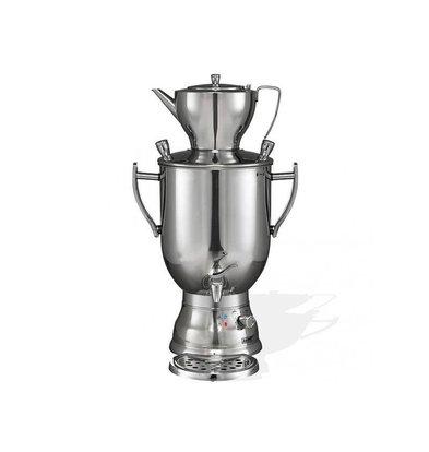 XXLselect BEEM Samovar Trendy 3008C | Tee- Wasserkocher | Edelstahl | 8 Liter