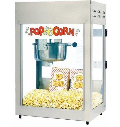 XXLselect Popcorn Maschine | Titan | 51x36x(h)70cm