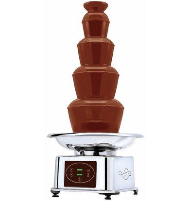 XXLselect Schokoladenbrunnen Automatisch | 5kg Schokolade |32x(h)84cm
