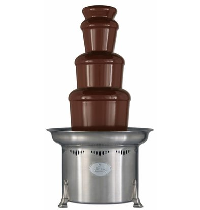 XXLselect Schokoladenbrunnen Montezuma 10kg | 150/250 Personen | 47x(h)86cm