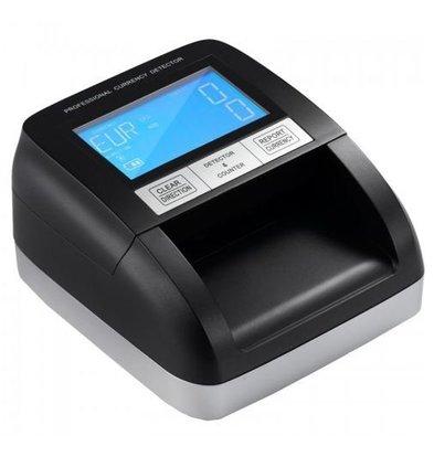 XXLselect Falschgelddetektor 350LCD | 6-Fache Kontrolle/0,5 Sek | LCD Screen
